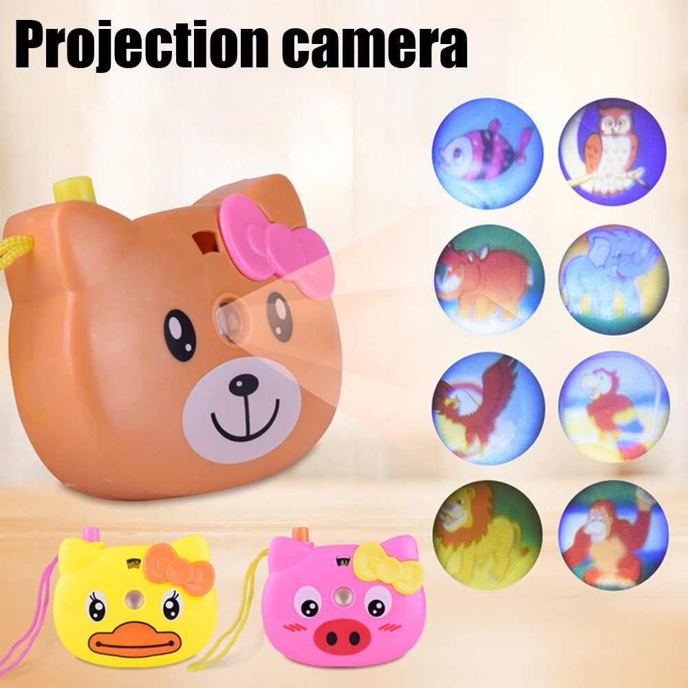 Animal Pattern Eco friendly Light Projection Camera Toy ...