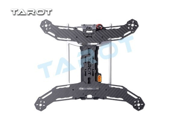 TAROT Mini 300 Carbon Metal Quad copter main frame Kit Built-in PCB board TL300A tator rc all 3k pure carbon metal octa rotor copter main frame kit iron man 1000 tl100b01