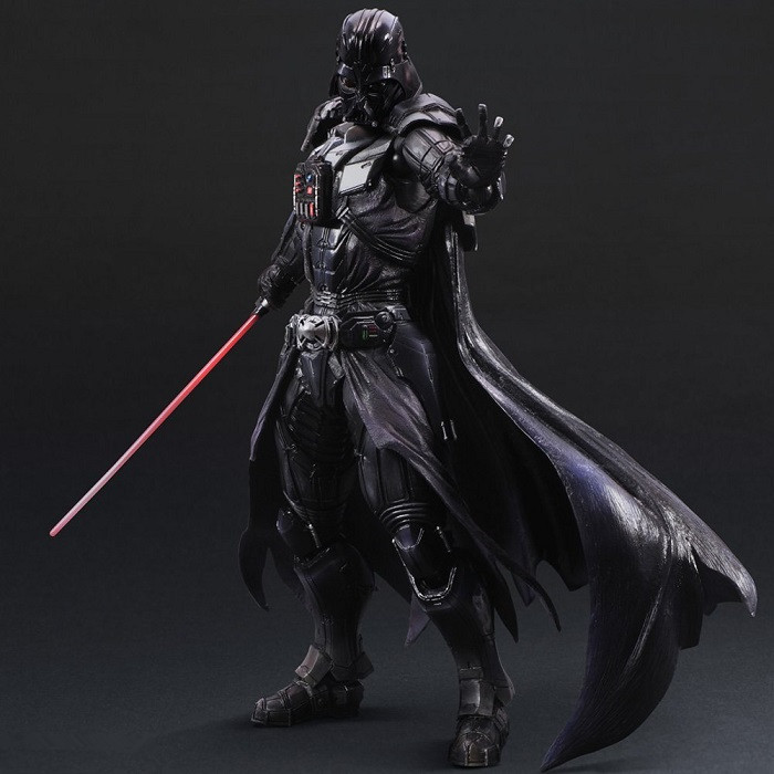 Star Wars Play Arts Kai Action Figure Darth Vader Collection Model Toys Anime Movie Star Wars Darth Vader Playarts Kai 1pcs star wars darth vader revenge of the sith auction 3 75 figure child boy toy collection xmas gift free shipping