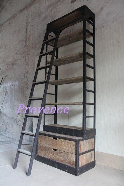 eenvoudige houten boekenkasten amerikaanse land antieke vitrines planken eenvoudige vertoningsrek ikea boekenkast met ladder