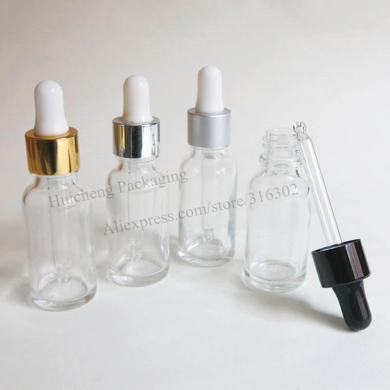 200x20 мл Портативный прозрачный Стекло Eessential масло бутылка с капельницей 20cc прозрачный Стекло флакон-капельница банки контейнеры для жидкость для электронной сигареты