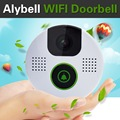 AlyBell Fashional Design Mini Smart WiFi Video Doorbells 2way Audio Color Video Intercom Unlock door with Free Android iOS APP