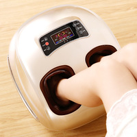 High grade Remote Control Air Pressure Foot massager 4D foot massage instrument heating foot massager feet relax machine
