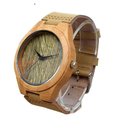 YUELANSHI Wood watch  Hot Sell Men Women Fashion Wooden Watches with Genuine Leather Luxury Quartz WristWatch Gifts Lahore