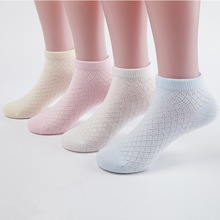 Spring autumn Mesh Thin Kids Socks Unisex Toddlers Children Casual  sports Cotton Baby Girl Boy