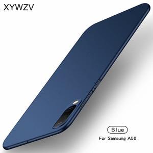 Image 3 - Pour Samsung Galaxy A50 Cas Mince Ultra Mince de Luxe Lisse Dur PC Téléphone étui pour Samsung Galaxy A50 Housse Pour Samsung A50 Fundas