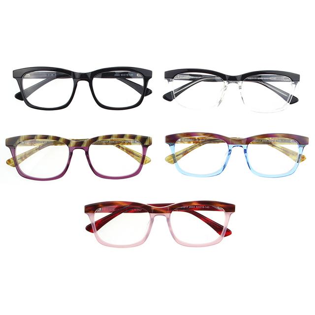 Acetate Glasses Frames Modern Optical Glasses Men Women Style With
