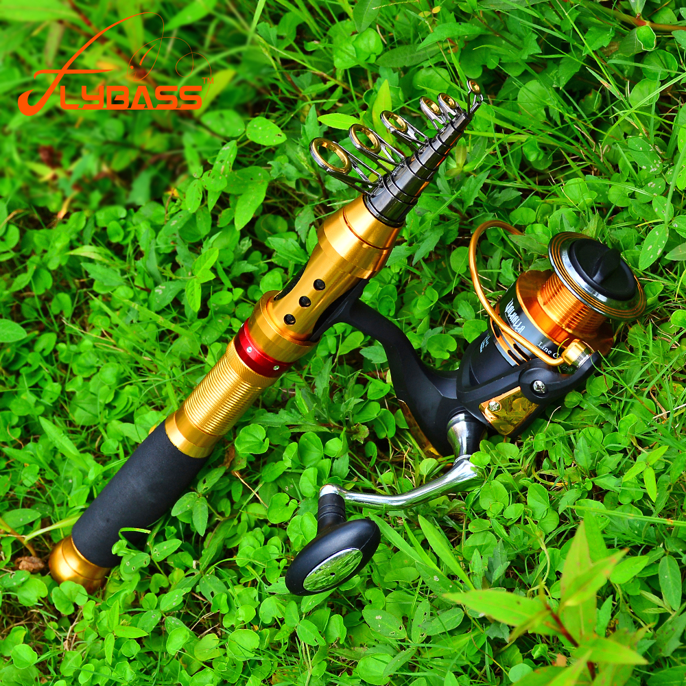 Flybass 7/9/11/12 Sections High Carbon Telescopic 1.5M-3.6M Fishing Rod Metal Handle Sea Fishing Rod Fishing Tackle(China)