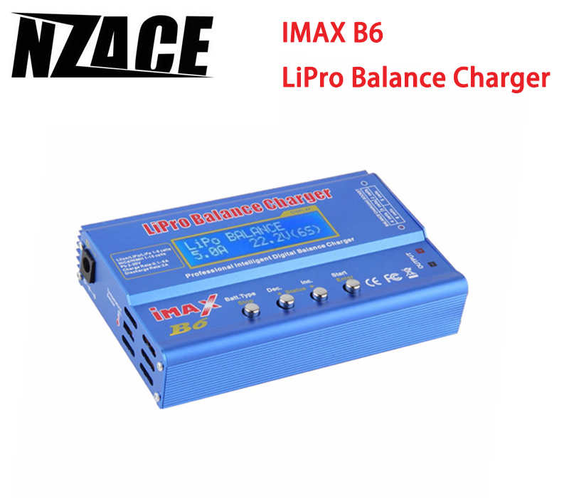 NZACE IMAX B6 LCD Screen Lipo Li-ion Ni-MH LiFe RC AIO Battery Balance Charger Suitable for Input Voltage Within DC 11~18V 2013 hot sale orignal imax rc imaxrc intelligent balance multifunction battery lipo life li lon charger low s battery helikopter