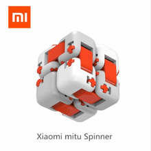 Oryginalny XiaoMi Mitu Finger cegły Mi klocki Finger Spinner prezent dla dzieci bezpieczeństwo przenośny budowniczy inteligentne mini zabawki