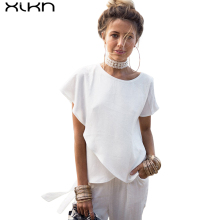 Short Sleeve White Chiffon Blouses Women Clothing Summer Woman Casual Blouse New Women Shirts female Blusa Chiffon AG235