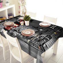 3D Tablecloth Bustling City Night Pattern Merry Christmas Washable Cloth Thicken Rectangular and Round Table Cloth for Wedding все цены
