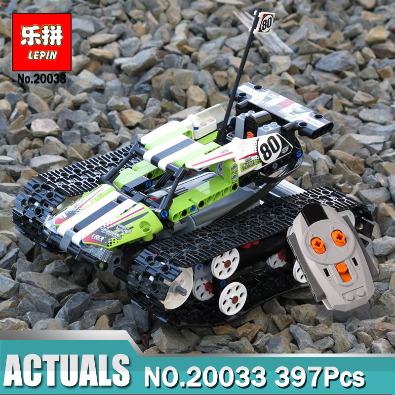 Lepin 20033 Remote Control Car compatible Legoinglys Technic 42065 RC Tracked Racer Model Building Blocks Toys