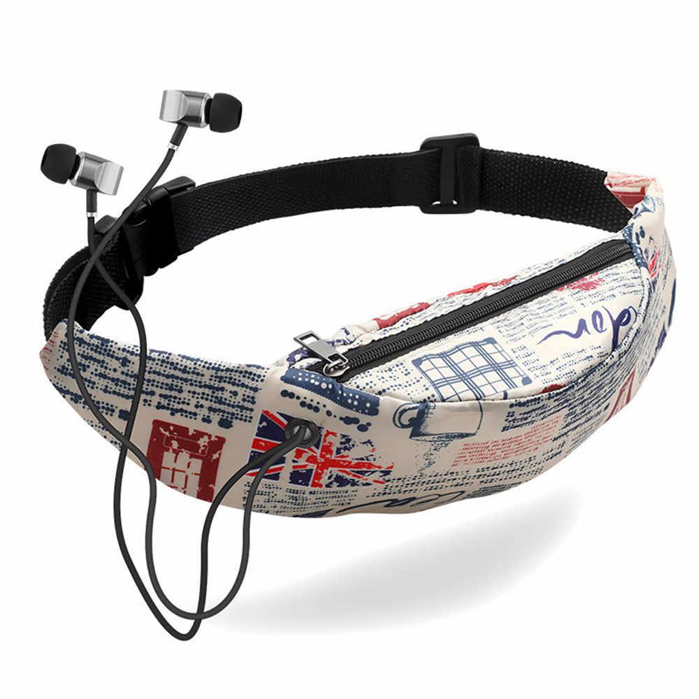 カラフルなファニーパックウエストバッグ防水旅行ファニーパック携帯電話のウエストパックベルトバッグウエストパック胸バッグ 1.7 # YL20