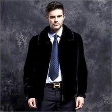 Высокое качество искусственного меха лисы Куртки Пальто Зимние черные сапоги Furry искусственного меха куртки лохматый S-6XL плюс Размеры пальто из искусственного меха FW142