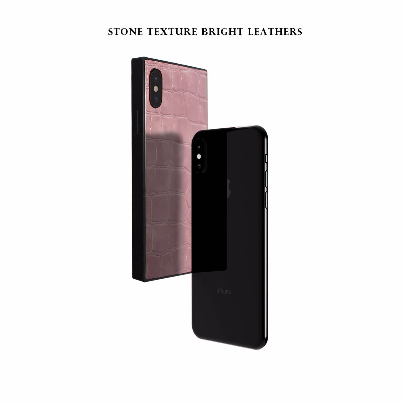 Square protective Case For iPhone 6 6s 7 8 Plus X Xr Xs PU Back Cases For iPhone 7 plus phone case Cover Conque in Fitted Cases from Cellphones Telecommunications