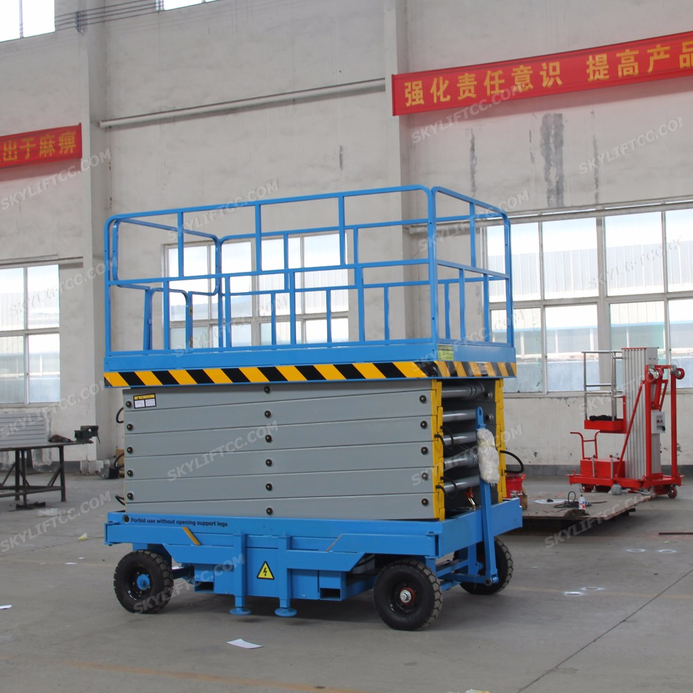 Buy 6m Hydraulic Electric Small Scissor Lift Hydraulics And Electricity Platform For Sale From Reliable Suppliers On Jinan Skylift Machinery Co