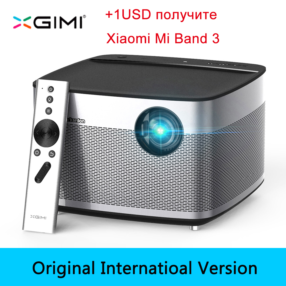 XGIMI H1 DLP Projector Full HD 1080P 900 Ansi 3D Support 4K Video Projecteur Android Wifi Bluetooth Home Theater Beamer HDMI USB
