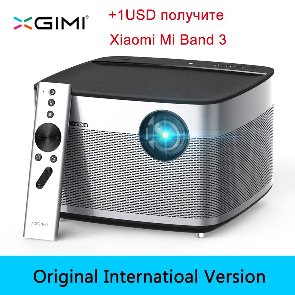Xgimi H1 DLP проектор 1080p Full HD 3D 4К 3 ГБ/16 ГБ Android Bluetooth, Wi Fi AirPlay proyector проектор для домашнего кинотеатра отправка из России