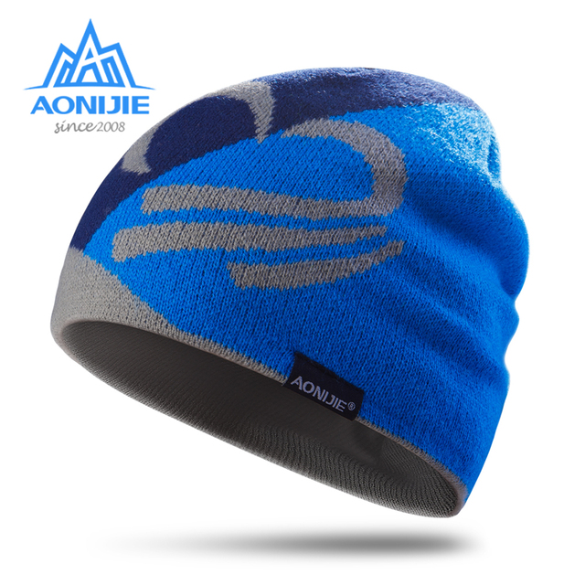 AONIJIE M24 Unisex Winter Warm Sports Knit Beanie Hat Skull Cap For Running  Jogging Marathon Travelling Cycling Camping f06f403b4b2