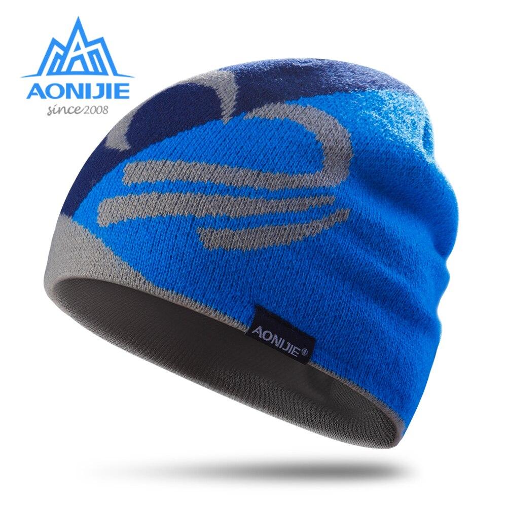 AONIJIE M24 Unisex invierno cálido deportes sombrero cráneo tapa para correr maratón viajar ciclismo, Camping