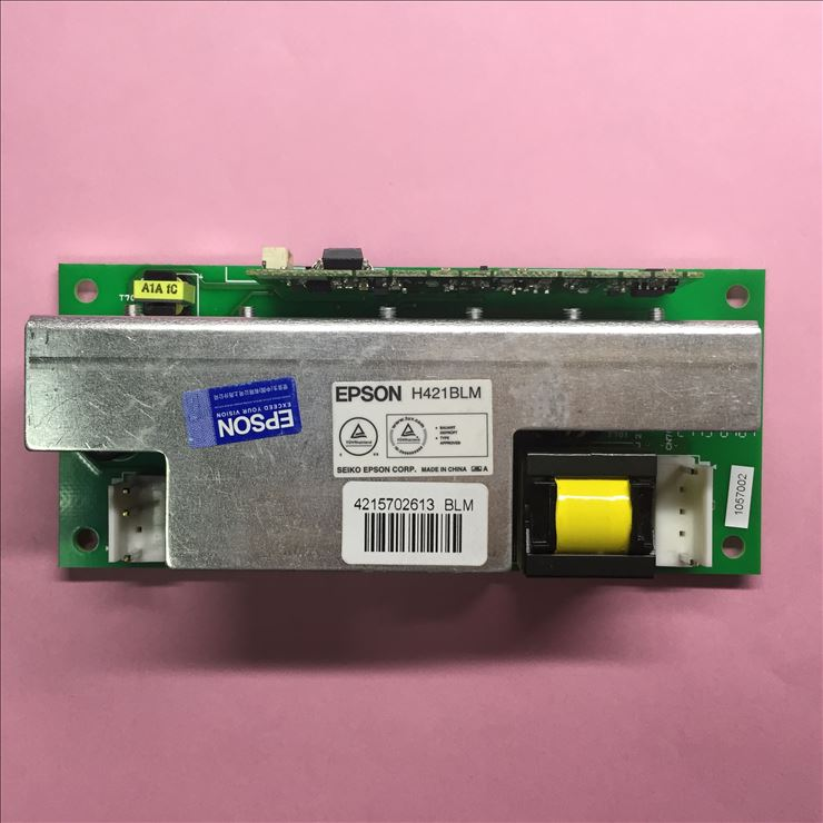 NEW Original H421BLM (White label) ballast board for Epson Series projectors new original pkp k170a ballast board for epson projectors appearance is same can be used directly