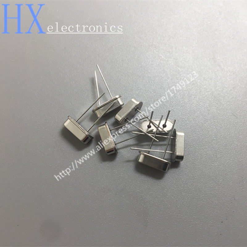 Free Shipping 10PCS HC-49S 4/6/8/12/16/20/24M Passive Quartz Resonator 49S Crystal Oscillator Products