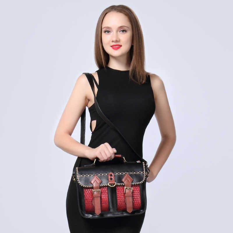 Realer фирменный дизайн женская сумка Высокое качество Satchels сумка Винтаж одноцветное Искусственная кожа сумка