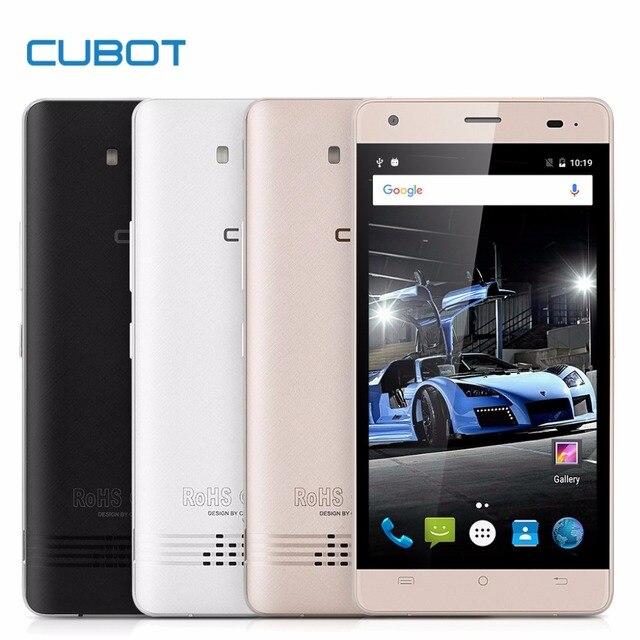 "Оригинал CUBOT Эхо Смартфон Android 6.0 MTK6580 Quad Core 5.0 ""HD IPS Сотовые телефоны 2 ГБ + 16 ГБ 13MP 3000 мАч OTG GPS Мобильного Телефона"