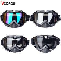Nouveau Vcoros marque Lunettes moto lunettes casque lunettes moto casques lunettes masque motocross lunettes de ski coupe-vent eyewears