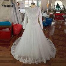 robe de mariage 2017 long sleeves Musilm brautkleid hijab wedding dresses turkey dress wedding gowns hochzeitskleid trouwjurk
