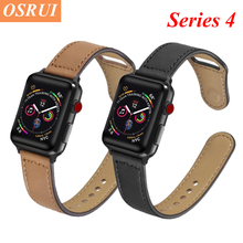 Leather Strap for Apple watch band 42mm 38mm pulseira 40mm 44mm sports high-quality apple correa iWatch bracelet 4 3/2 belt
