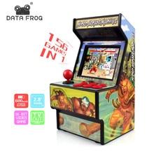 Data Frog Retro Mini Arcade Handheld Game Console 16 Bit