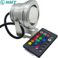 10w rgb led underwater light dc12v IP67 waterproof aquarium swimming pool spotlight stainless car lighting fish tank piscina