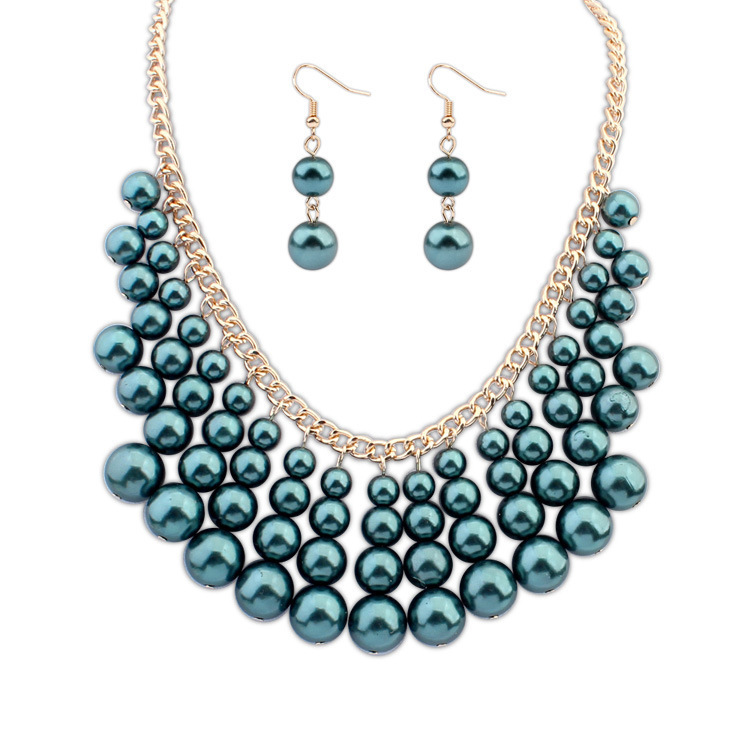 wedding bead necklace images