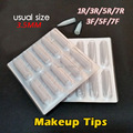 100pcs/one Size Permanent Makeup Eyebrow Tips Machine Pen Tips Free Shipping