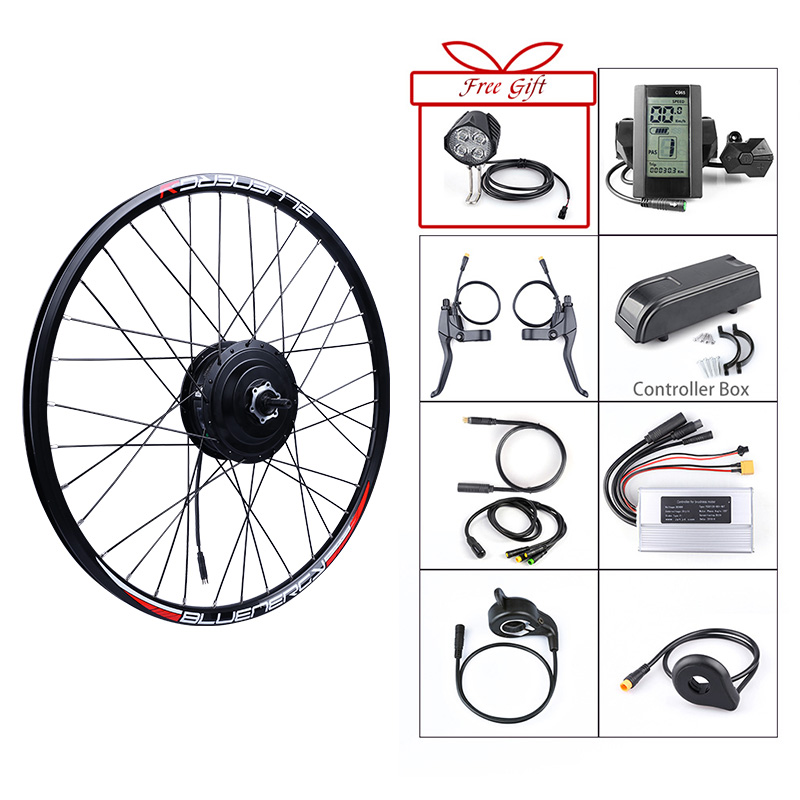 Bafang 36V 350W Brushless Gear Hub Motor E bike Motor Rear Wheel Drive Electric Bike Conversion