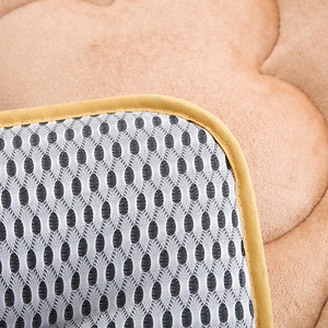 Image 4 - 65x120 cm Draagbare Baby Kinderen Crib En Peuter Matras Pad Cover Ademend Draagbare Afneembaar En Wasbaar Upgrade