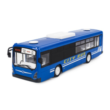 Simulation Remote Control City Bus 2 4G Radio RC Car Toys for Children Model Electric Bus