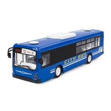 Simulation Remote Control City Bus 2.4G Radio RC Car Toys for Children Model Electric Bus Halloween Kids Birthday Gift