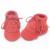 Envío libre de dhl 50 par/lote nuevo con cordones de cuero de gamuza mocasines bebé niño double fringe zapatos suaves del bebé primeros caminante botas infantiles