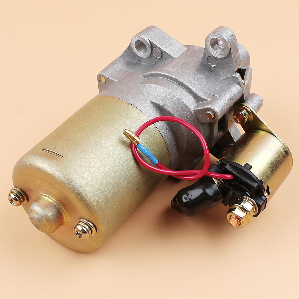 Starter Motor For Honda GX160 GX200 5.5HP 6.5HP Engine w//Solenoid 31210-ZE1-023