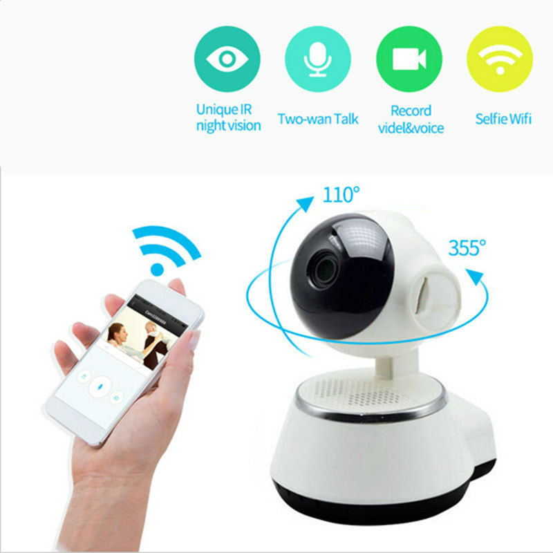 hd 720p v380 ip camera wifi smart home wireless surveillance camera security camera micro sd. Black Bedroom Furniture Sets. Home Design Ideas