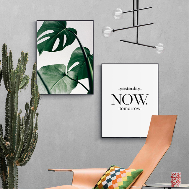 Big Leaves – Poster Collection
