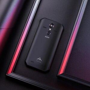 """Image 2 - (Dom gratuito) OFICIAL AGM A9 5.99 """"FHD + 4G + IP68 64G Android 8.1 do Smartphone 5400mAh Bateria À Prova D Água quad Box Falantes NFC OTG"""