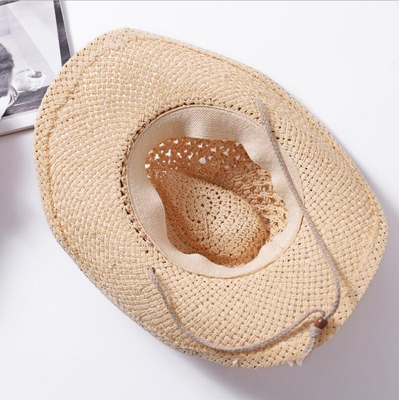 76ea0facb80ba 2018 Fashion 100% Handwork Child Summer straw Sun hat Boy Boho Beach Fedora hat  Sunhat Trilby dad Panama Hat Gangster Cap-in Sun Hats from Men s Clothing  ...
