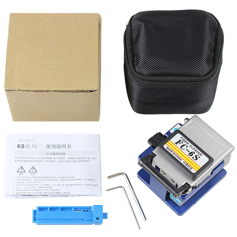 Image 5 - FC 6S fiber cleaver Cold Contact With 12 BladeS FC 6S Metal 