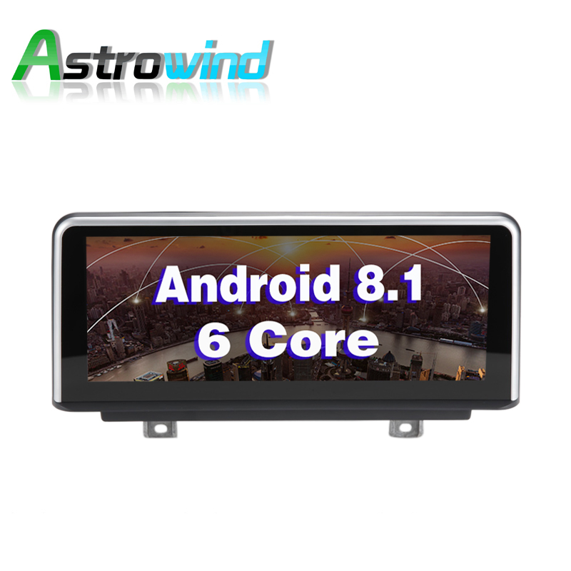 10.25 inch 2G RAM Android 8.1 Car GPS Navigation Media Stereo Radio For BMW 3 Series F30 F34 for BMW 4 Series F32 F33 F36 NBT