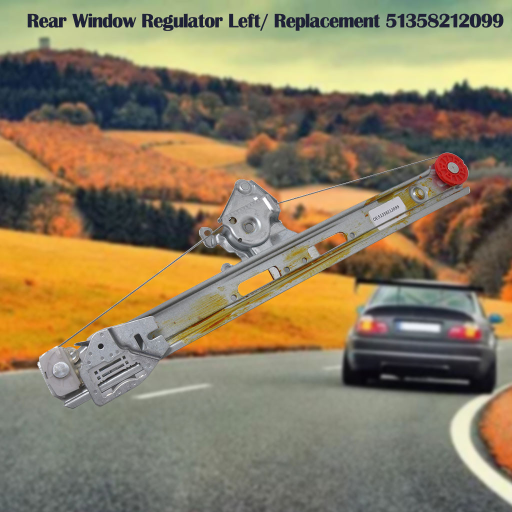 BMW E46 2001-2005 3 Series Compact Rear Side Vent Window Electric Window Motor 8