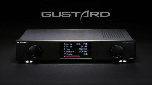 GUSTARD DAC X20 ES9028 XMOS Optical Coaxial AES EBU DAC 384KHz DSD DOP Decoder